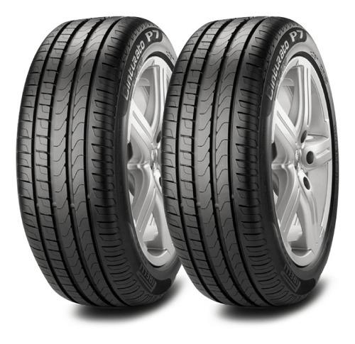 Kit X2 Neumaticos Pirelli 205/55 R16 W P7 Cinturato