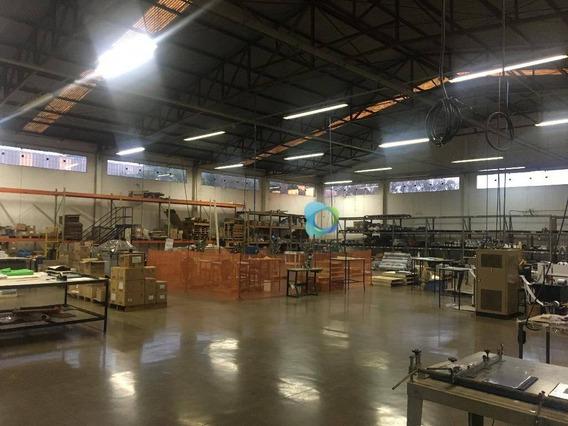 Galpão Comercial Para Venda E Locação, Área Industrial Adib Rassi, Jardinópolis. - Ga0020