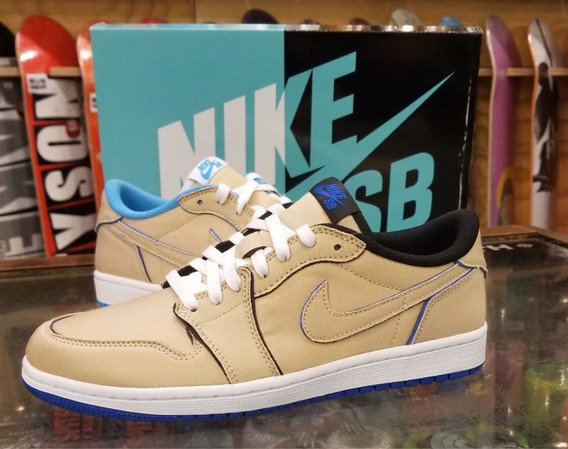 Tênis Nike Jordan 1 Low Lance M