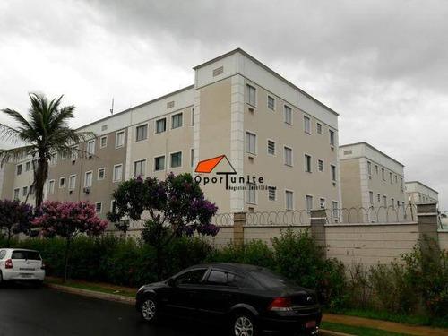 Apartamento Com 2 Dormitórios À Venda, 49 M² Por R$ 132.000,00 - Parque São Sebastião - Ribeirão Preto/sp - Ap0931