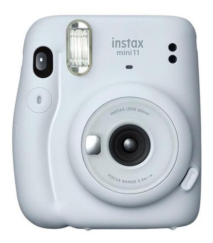 Imagem 1 de 5 de Câmera instantânea Fujifilm Instax Mini 11 ice white