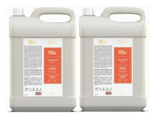 2 Shampoo Galão 5lt Revigorante Lissé Profissional + Brinde