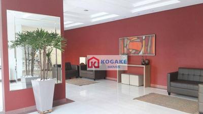 Apartamento Com 2 Dormitórios Para Alugar, 76 M² Por R$ 2.000/mês - Jardim Aquarius - São José Dos Campos/sp - Ap4916