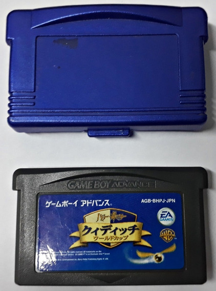 Jogo Harry Potter Quidditch World Cup Gameboy Advance Gba