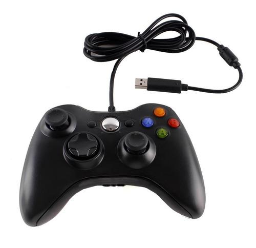 Imagen 1 de 10 de 2 Controles Gamepad Xbox 360 Alambrico Usb/pc