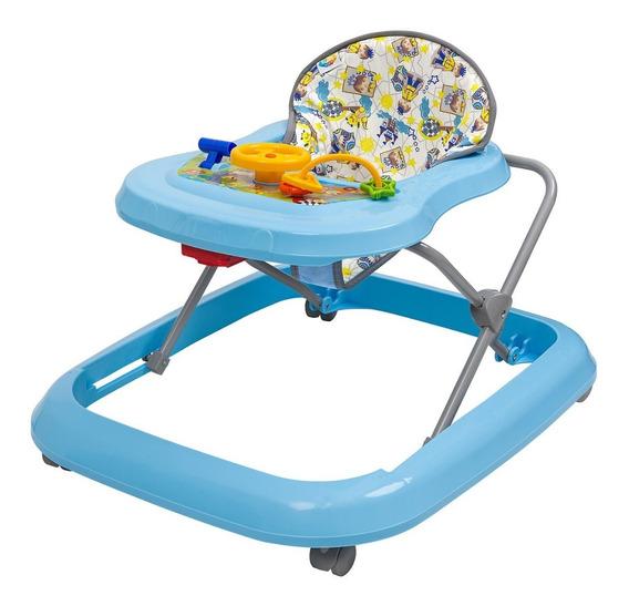 Andador Bebê Azul Menina E Menino Tutti Baby Toy Até 15 Kg