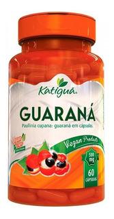Guaraná 500mg 60 Cápsulas - Katiguá