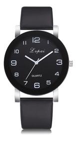 Relógio Feminino Lvpai P383 Bom Bonito Básico Barato Black