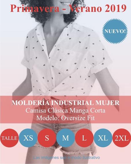 Molderia Industrial Moda / Camisa Clásica Oversize