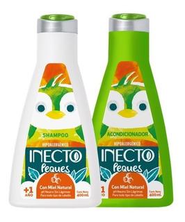 Set Shampoo Y Acondicionador Inecto Peques Hipoalergenico