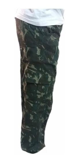 Calça Sarja Masculina C/ Elastico Lisa/camuflado Frete Grati