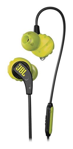 Fone de ouvido in-ear JBL Endurance Run yellow