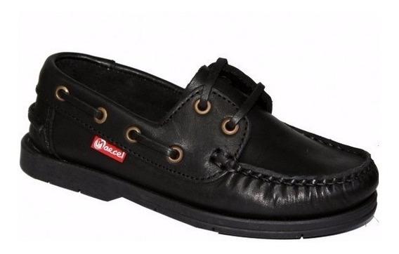 Zapato Nautico Marcel Colegial Cordon 30 Al 41 Mundo Ukelele