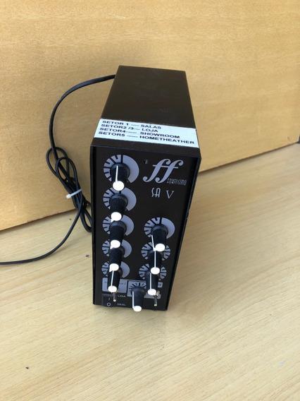 Amplificador Para Som Ambiente Fortíssimo Sa-5 60w Rms