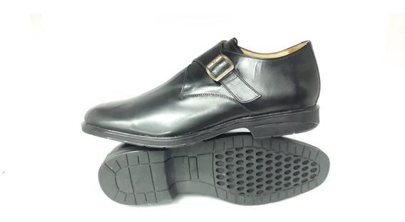 Zapato Hombre 47 - 48 Calzado Números Grandes Hebillas Cuero