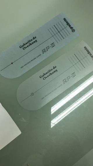Gabarito Overhang Tocadiscos Gradiente Rp Ii Esotech