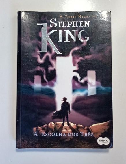Livro A Escolha Dos Três - Torre Negra Vol Ii - Stephen King