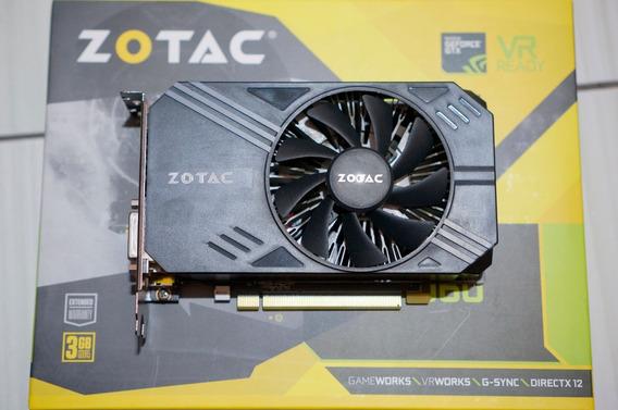 Placa De Vídeo Vga Zotac Geforce Gtx 1060 3gb Mini Itx Atx