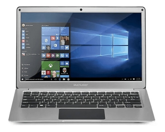 Notebook Multilaser 13.3 Pol 4gb 64gb Windows 10 Dual Core P