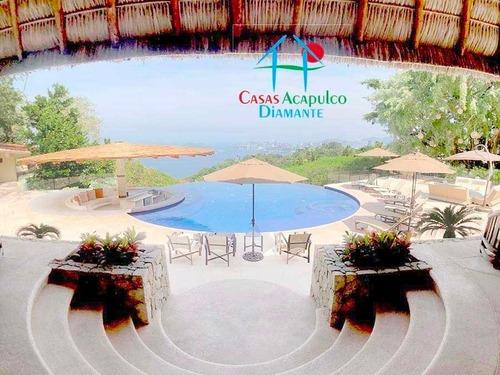 Cad Las Brisas - 8 Caballos. Alberca, Vista Al Mar, Pool Bar