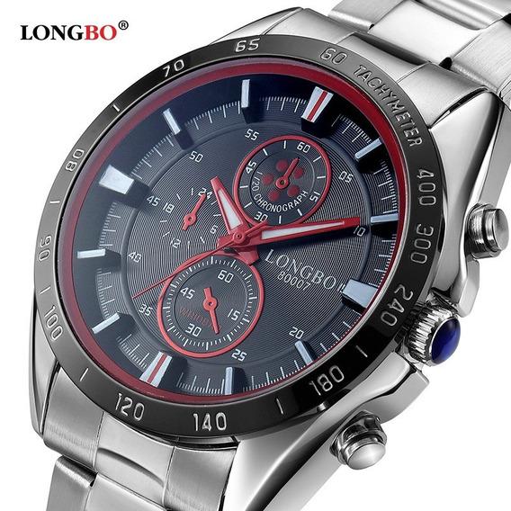 2016 Longbo Relógio De Quartzo Homens Top Marca De Luxo