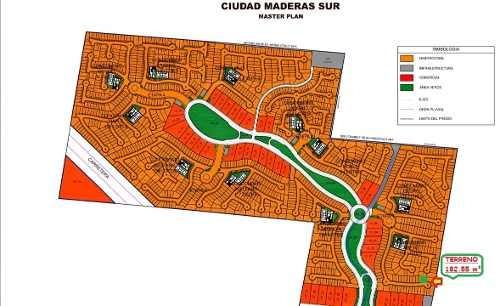 Mta/ Terreno Residencial En Ciudad Maderas Sur