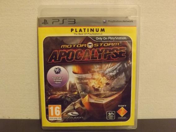 Ps3 Motorstorm Apocalypse - Completo - Aceito Trocas...