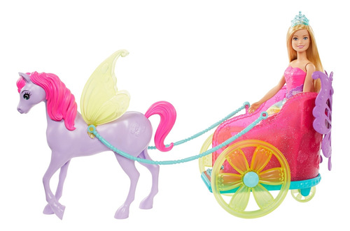 Barbie Dreamtopia Princesa Y Carruaje