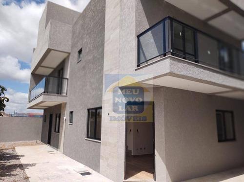 Sobrado Com 3 Dormitórios À Venda, 111 M² Por R$ 495.000,00 - Xaxim - Curitiba/pr - So0309