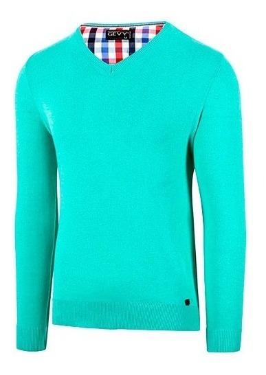 Suéter Sel Basico Color Verde Caballero Pv