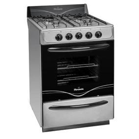 Cocina Florencia 56 Cm 5518f Multigas Acero Inox + Envio