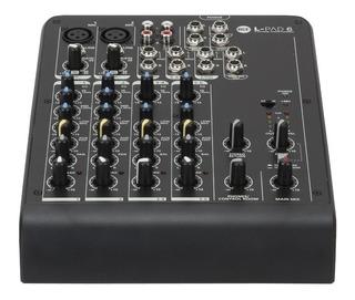 Consola Rcf L-pad 6 Can Con Efectos Cuotas