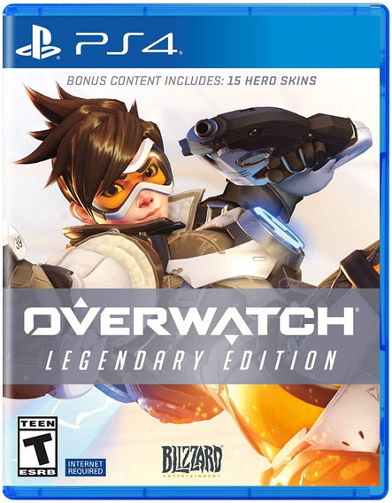 Overwatch Legendary Edition - Ps4 Mídia Físca