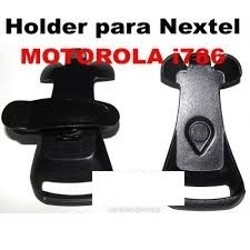 Holder Nextel I786 I786w Compatible Color Negro Acrilico