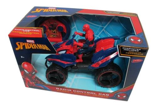 Cuatriciclo Radio Control-spiderman Original!! Marvel-ditoys