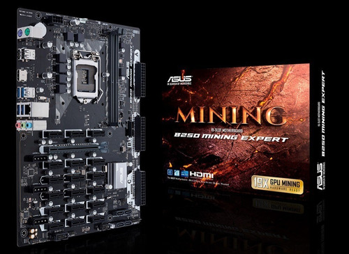 Placa Mãe B250 Mining Expert Bitcoin