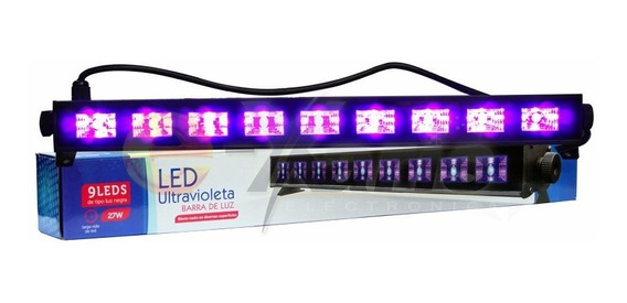 Pack 5 Barras Hyper Leds De Luz Uv Negra Neon Ultravioleta