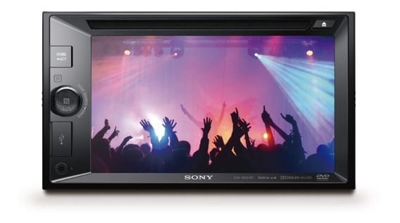 Dvd Automotivo Sony Xav-w651bt Tela Touch Screen 6.2 /blueto