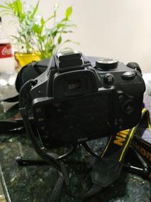 Câmera Nikon D3200 C/ Lente, Carreg.bolsa, Tripé, Caixa E Nf