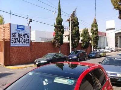Terreno En Renta, Naucalpan De Juárez, Estado De México