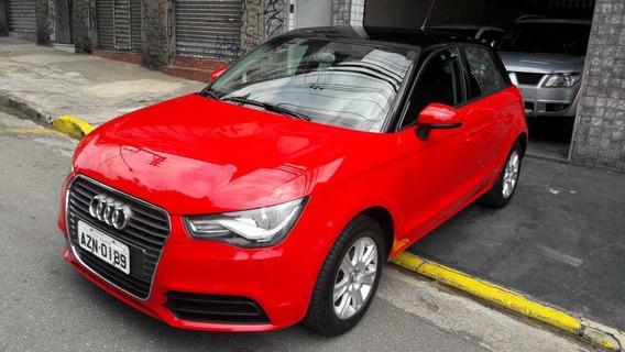 Audi A1 Atrattion 2015 Vermelho,t.original,sem Detalhe