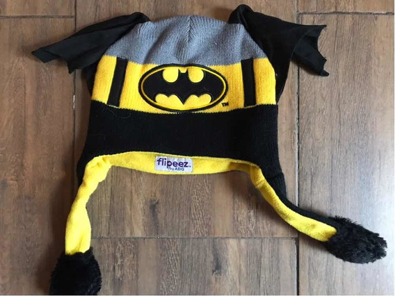 Gorros Termicos Para Frio Niños Batman