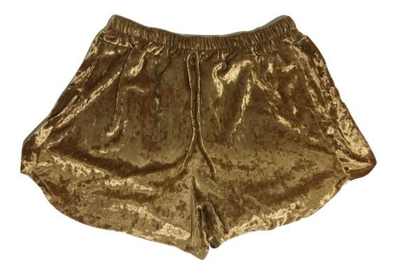 Shorts Boxer Veludo Molhado Novidademoda Blogueira Instagram