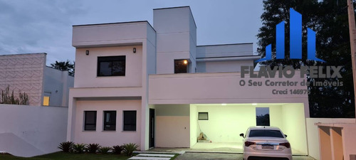 Imagem 1 de 15 de Casa A Venda Condomínio Arujá 3 Suites Área Gourmet Com Piscina - 52