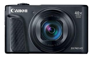 Canon PowerShot SX740 HS compacta avanzada negra