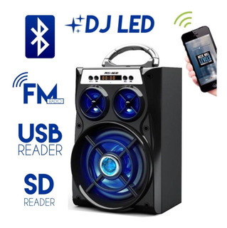 Alto Falante Bluetooth Pendriv Radio Caixinha Atacado 5 Unid