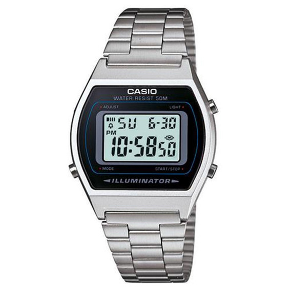 Relógio Unissex Digital Prata Casio B640wd-1avdf