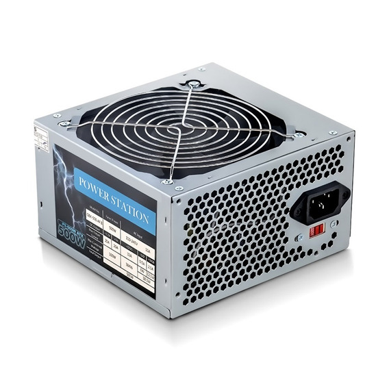 Fonte 500w Real Bivolt Ps-500w Power Station