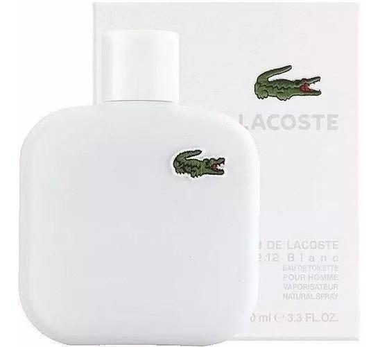 Perfume Lacoste L.12 12 Blanc 100ml Masculino Original