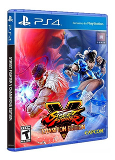 Street Fighter V Champion Edition Ps4 Nuevo Y Sellado